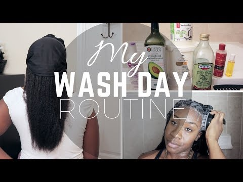 MY WASH DAY ROUTINE | RELAXED HAIR