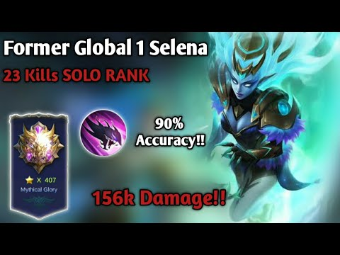 23 KILLS!! TRYING HARD TO CARRY MY TEAM!! Former Global 1 Selena Solo Rank