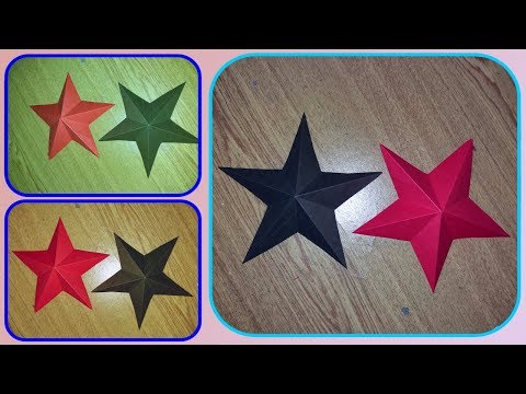 How to make simple & easy paper star | DIY Paper Craft Ideas Tutorial