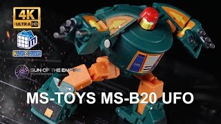 Magic square MS-TOYS MS-B20 UFO / Legend Class Cosmos Q. Review 129