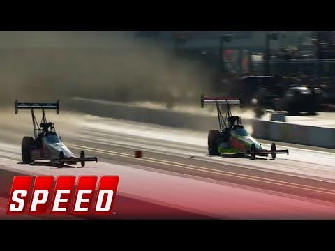 Doug Kalitta vs. Richie Crampton - Charlotte Top Fuel Final | 2017 NHRA DRAG RACING