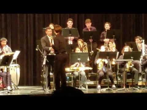West Essex high school jazz band 2019