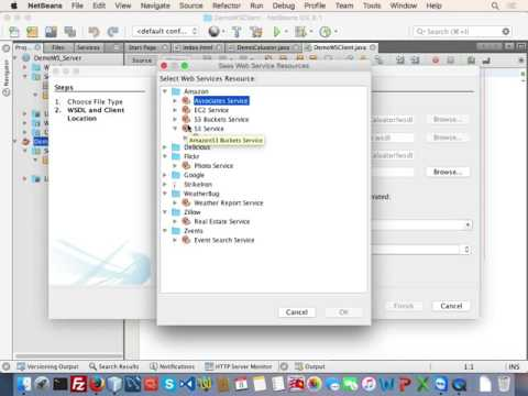 Webservice Client - Server on Netbeans With Soap 1.2