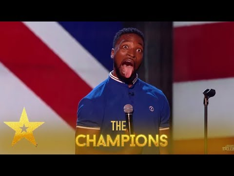 Preacher Lawson: This Comedian My GOSH! You Will Get The Giggles! | Britain's Got Talent: Champions
