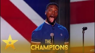 Preacher Lawson: This Comedian My GOSH!🤣 You Will Get The Giggles! | Britain's Got Talent: Champions