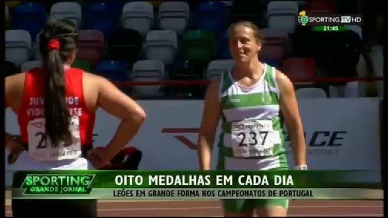 Atletismo :: Sporting nos Campeonatos de Portugal de Pista em 2015