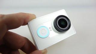Xiaomi Yi akció kamera - Teljes ellenőrzés a minta szalag