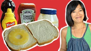 The WISH Sandwich or Condiment Sandwich - ketchup - mayo - mustard - syrup | HARD TIMES