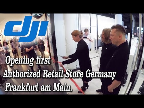 First opening DJI Authorized Retail Store in Germany/Frankfurt