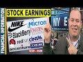 September Stocks Earnings📊  Nike, Micron, BlackBerry, Red Hat, Cintas, Thor, Darden   25 – 29📆