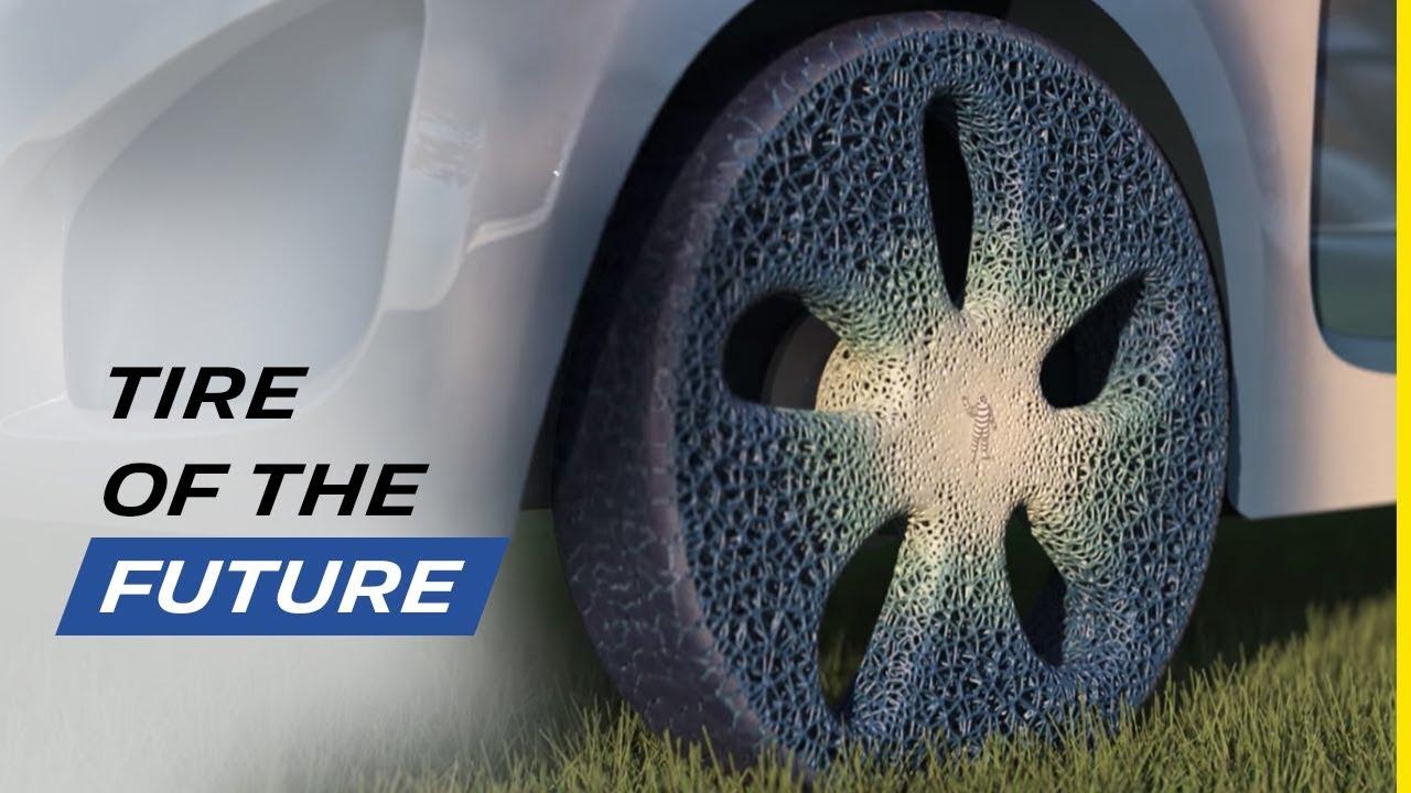 Le pneu du futur de Michelin: increvable, durable, circulaire, dans tous les sens du terme