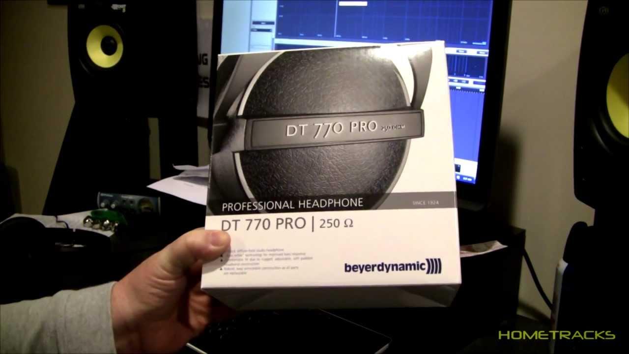 beyerdynamic dt 770 pro headphones 250 ohm review youtube. Black Bedroom Furniture Sets. Home Design Ideas