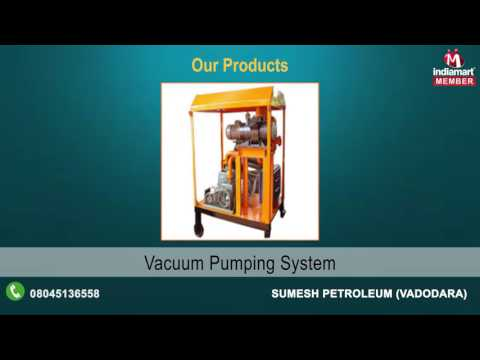 Oil Filtration Machines By Sumesh Petroleum, Vadodara