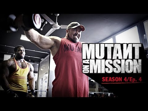 MUTANT ON A MISSION - Muscle Works Gym, Bethnal Green UK