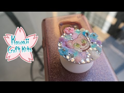 UV Resin Jewelry & Accessories Tutorial! (May 2019 Kawaii Craft Kits)