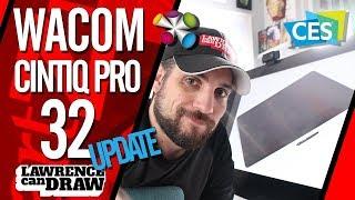 "Wacom Cintiq Pro 32"" & 24"" [CES 2018] LAUNCH"