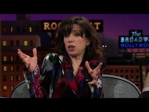 Sally Hawkins on CBS Late Late January 9, 2018 THE SHAPE OF WATER