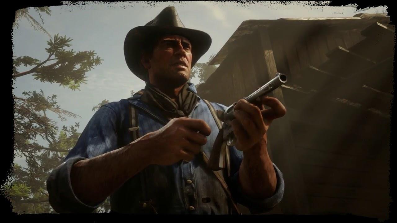 Red Dead Redemption 2 Cattleman Revolver Youtube