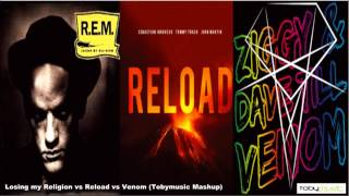 Losing my religion vs Reload vs Venom (Tobymusic mashup)