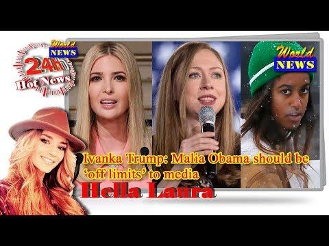 WorldNews - Ivanka Trump: Malia Obama should be 'off limits' to media