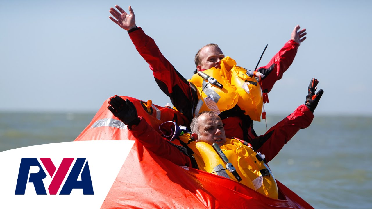 Top Tips Setting Off A Liferaft With Crewsaver Emergencies At Sea YouTube