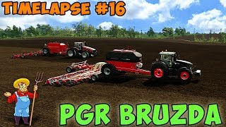 Farming simulator 17 | PGR Bruzda with seasons | Timelapse ep#16