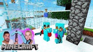 KAAN + NINA MÜSSEN IN FLASCHEN-WELT ÜBERLEBEN! Minecraft World in A Jar Überlebensmodus #02