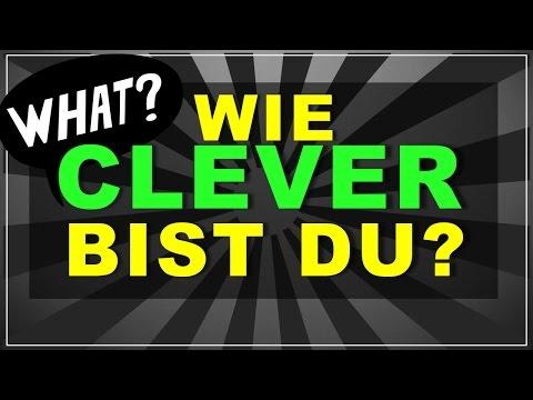 Test: Wie Clever Bist Du? (10 Fragen mit Antworten)