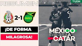Resumen y goles   México 2-1 Jamaica   Eliminatoria - Catar 2022