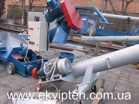 Разгрузчик цементных вагонов хопперов мобильный ВРХ-30Ц от Эквиптех