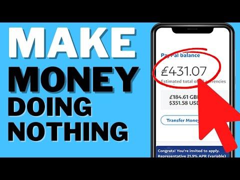 Make Money Online For FREE Doing Nothing