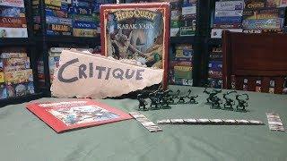 Hero Quest: Kellar's keep (HeroQuest: Karak Varn) -1989 - Milton Bradley - Critique