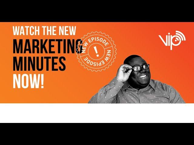 STARTING A SOCIAL MEDIA FIRE :: Marketing Minutes