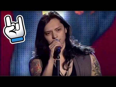 KEREN! Suara Rock Mengesankan Di Ajang Pencari Bakat  - Amazing Male Rock Voice