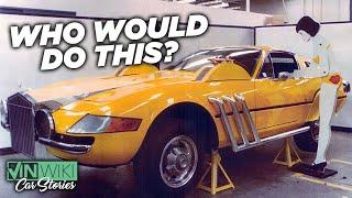 The story of the strangest modified Ferrari Daytona ever!