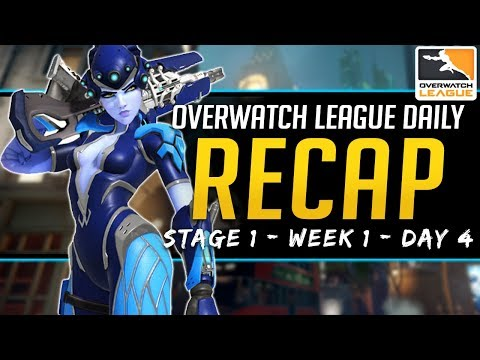 Overwatch League Daily Recap - AKM is Back! - 17 Feb 2019 Stage 1 Week 1 Day 4 thumbnail