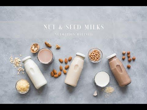 Dairy-Free Milk Alternatives Homogenized Plant-Based Milks | Vegan, Paleo, Keto