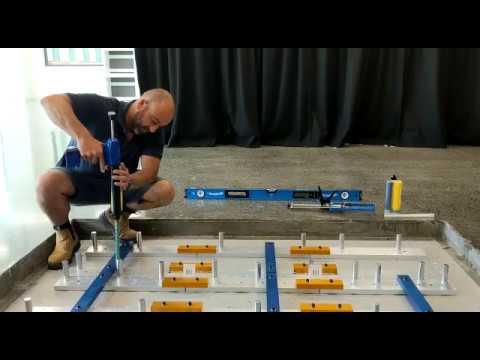 AMTI | Logemas - Force Platform Installation Time Lapse at La Trobe University Melbourne