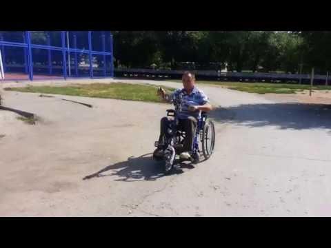Александр ВТУЛКИН сконструировал гибридный транспорт для инвалидов
