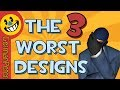 The 3 WORST Designs In TF2