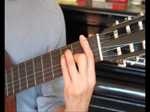 Gitarrenschule 6: Ganz leicht Gitarre spielen - Akkorde F, Bb, C ...