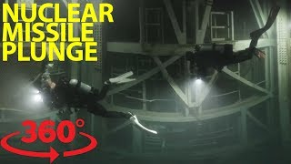 Fearless scuba divers explore abandoned nuclear missile silo in VR thumbnail