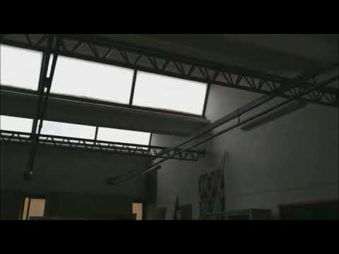 Piove nel Liceo Artistico di Cerignola