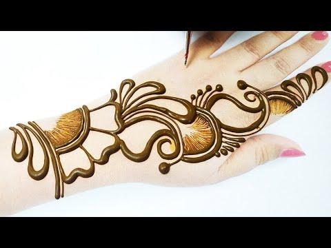 2 Eid 2020 Special Full Hand Arabic Mehndi Design |  Stylish Shaded Henna Mehndi Designs!