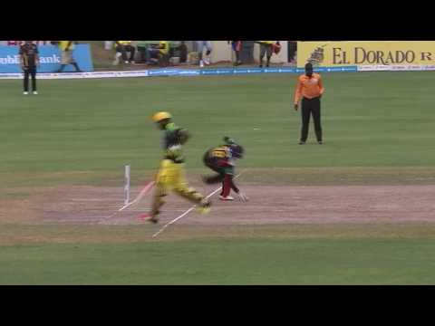 CPL 2016 Highlights - St Kitts and Nevis Patriots v Jamaica Tallawahs