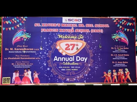 School Annual Day 2016 Part   1