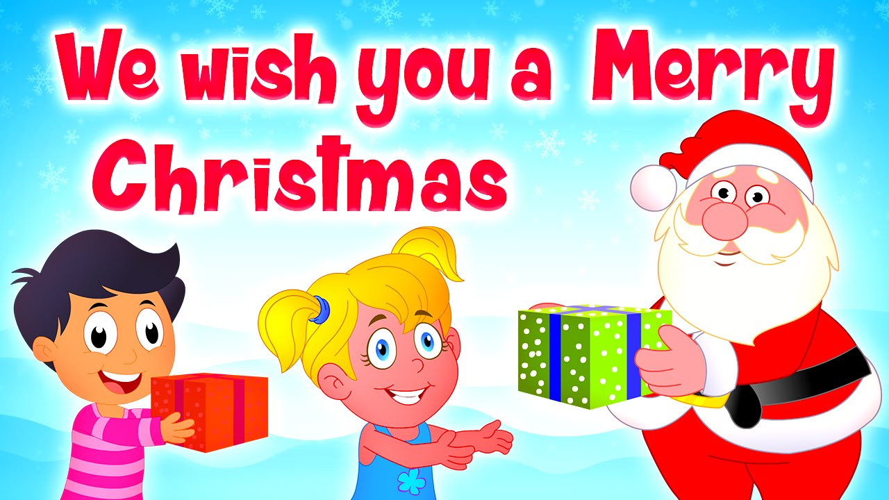we wish you a merry christmas happy new year songs for kids christmas children carols youtube