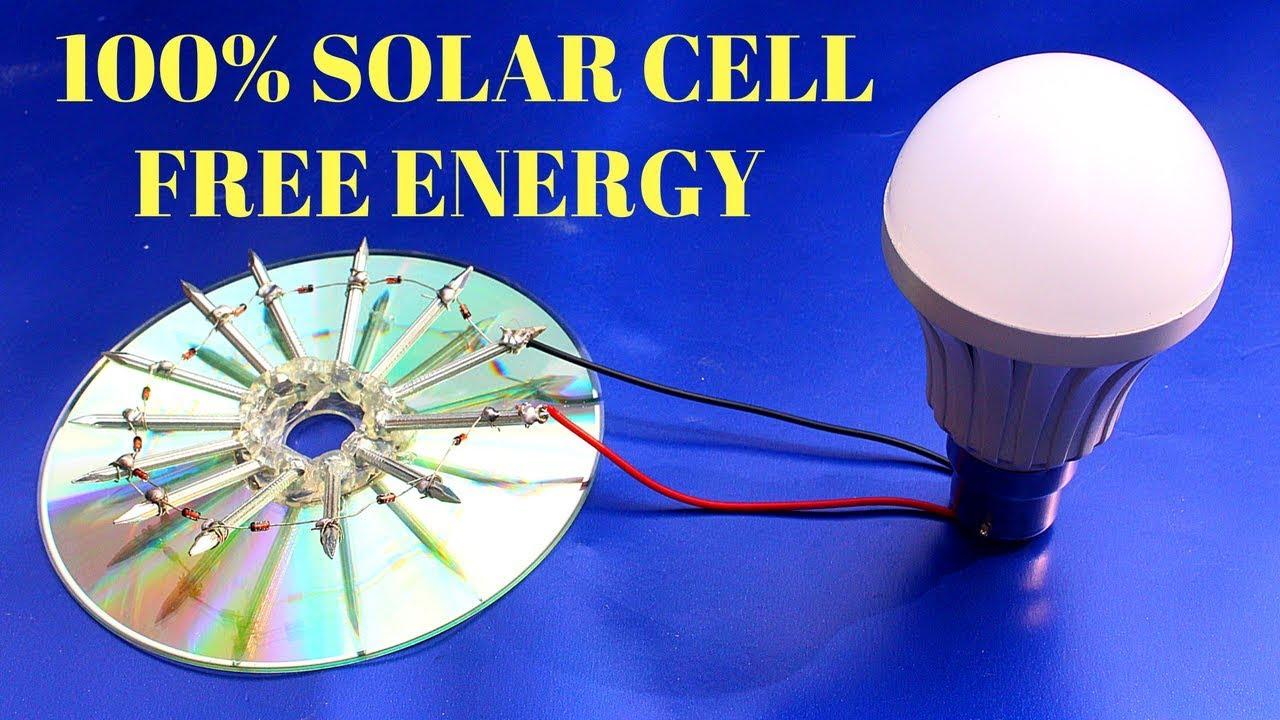 Solar Cell Free Energy 100 Free Energy Solar Cell