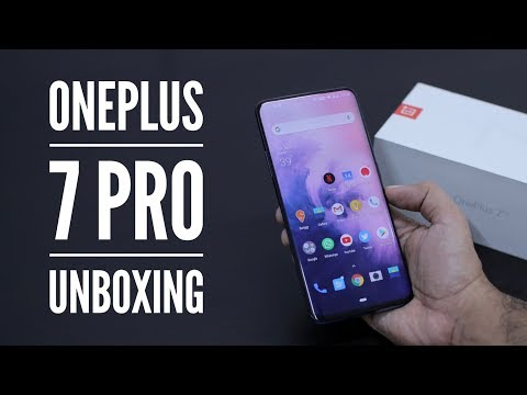 OnePlus 7 Pro Unboxing & Overview - 12GB RAM & 256 GB Storage!