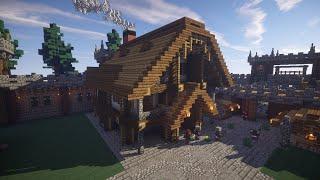 Как построить Замок в Minecraft |ЧАСТЬ 4| [Средневековье](И сегодня я решил начать цикл видео по постройке красивого замка в майнкрафт. В четвёртой серии и я подробн..., 2015-04-20T18:36:35.000Z)